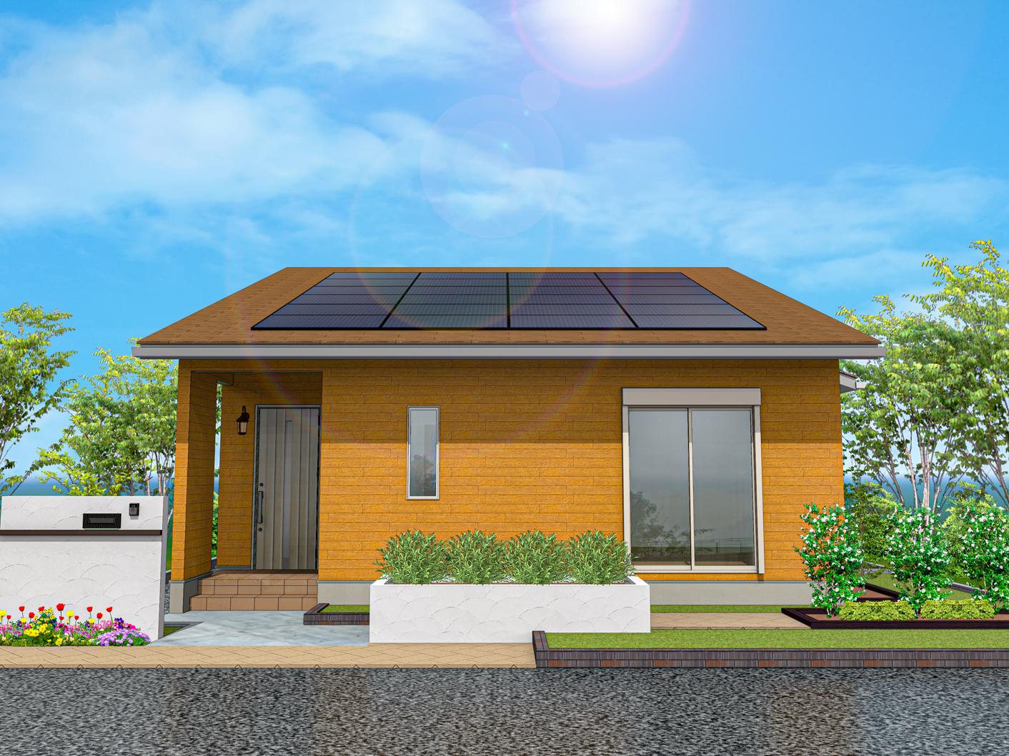 平屋規格住宅のイメージ