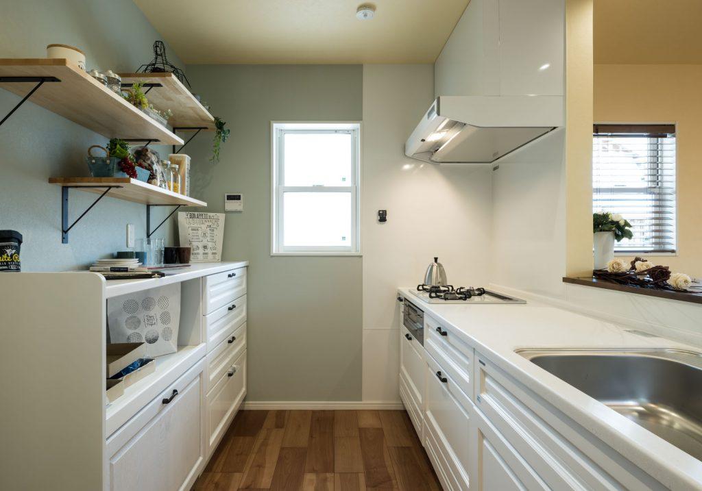 キッチンの家電収納