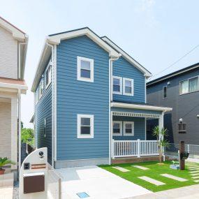 西海岸風の注文住宅
