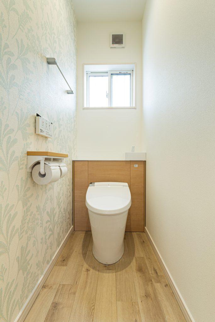 トイレの壁面収納