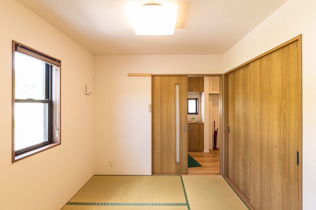 リビング和室から玄関へのショートカット