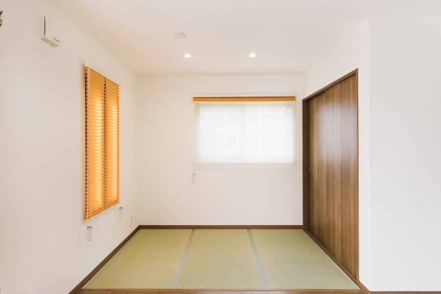 3畳のオープン畳スペース