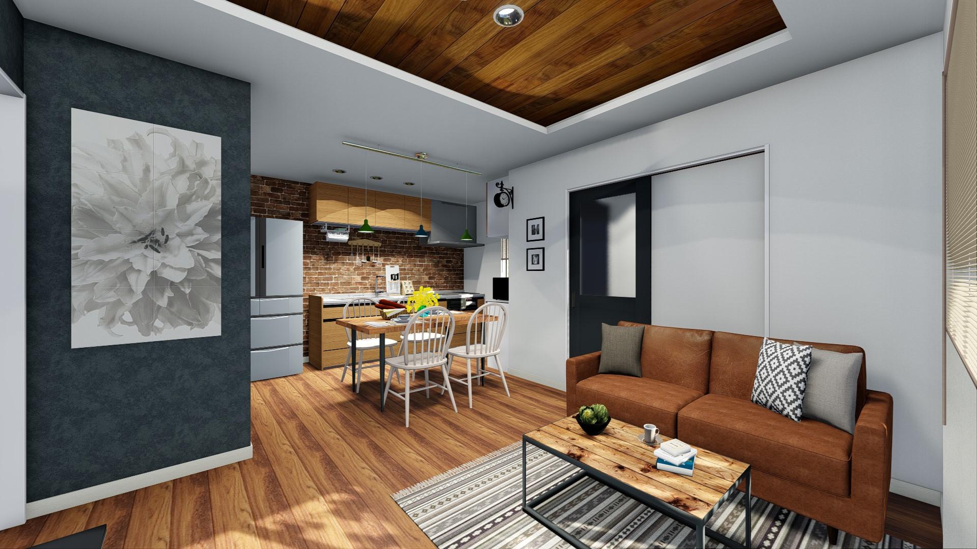 規格住宅のプランイメージ