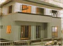 地震時の住宅のイメージ