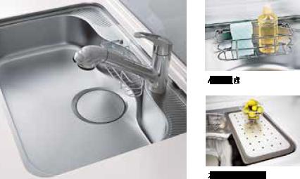浄水器内臓ハンドシャワー水栓イメージ